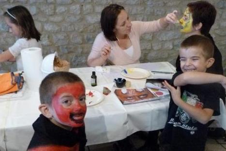 Sévérac-le-Château. Halloween et les maquillages de Solène | L'info tourisme en Aveyron | Scoop.it