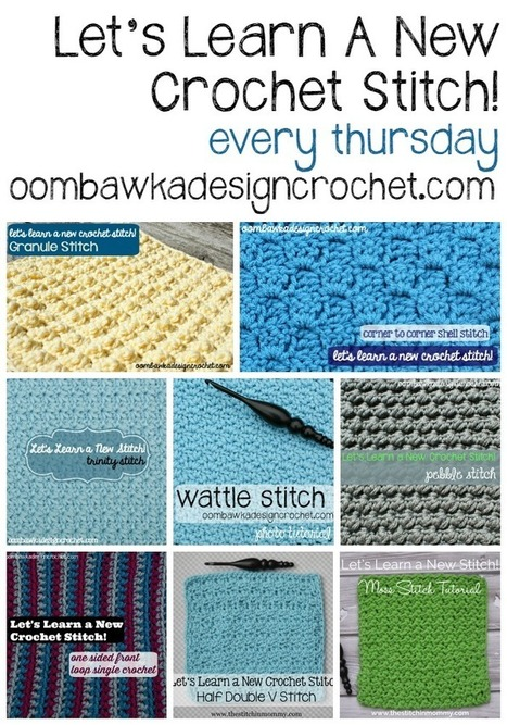 Let's Learn A New Crochet Stitch! Oombawka Design Crochet | Crochet with Meladora's Creations | Scoop.it