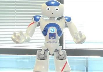 Bientôt des robots d'assistance aux personnes âgées chez Axa | Internet du Futur | Scoop.it