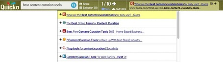 Content Discovery: Navigate Search Results In-Context with Quicko Search | Content Curation World | Scoop.it