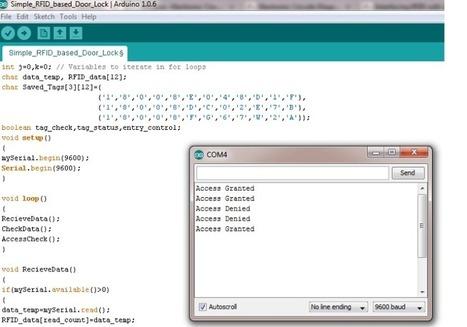 Simple RFID based Door Lock using Arduino | Raspberry Pi | Scoop.it