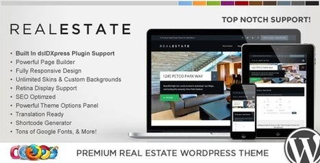 Most Powerful Real Estate Responsive WordPress Theme - Download! New Themes and Templates | soldonsaddlebrooke | Scoop.it