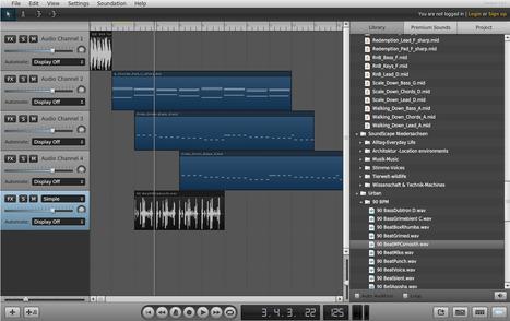 Soundation Studio | Sons et effets sonores | Scoop.it