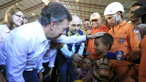 Colombie: le président Santos veut calmer le jeu avec le Venezuela | Venezuela | Scoop.it