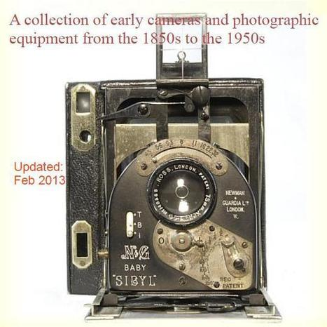 Early Cameras and Equipment from the Daguerreotype and Wet-Plate era - Antique and Vintage Cameras | L'actualité de l'argentique | Scoop.it
