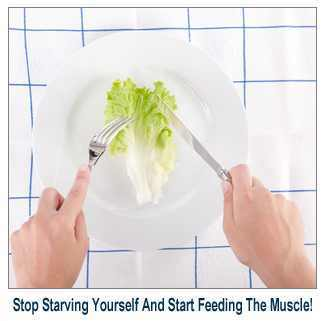 Fat Loss Lie: Starve Yourself to Get a Lean Body + FREE EBOOK | La Pomme Verte | Fitness and Health | Scoop.it