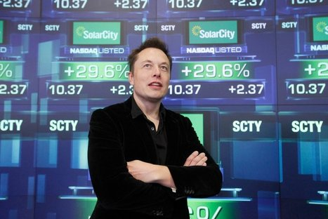 Tesla lance une OPA inattendue sur SolarCity | great buzzness | Scoop.it