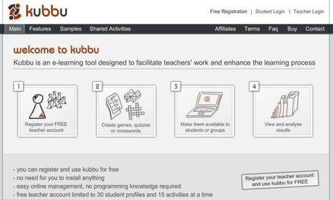Kubbu. Créer des exercices multimédia en ligne | Sites pour le Français langue seconde | Scoop.it