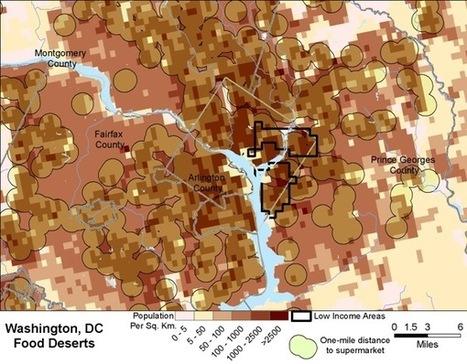How the USDA Maps Food Deserts | Food Deserts in U.S. | Scoop.it