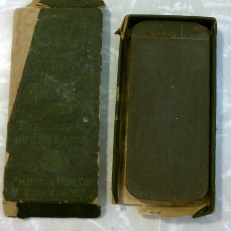 RARE Antique American Hone Co COTL Knife Razor Sharpening Stone w/Box | Antiques & Vintage Collectibles | Scoop.it