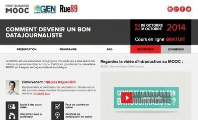 Un nouveau Mooc Rue89: les clés pour comprendre le datajournalisme | Les médias face à leur destin | Scoop.it
