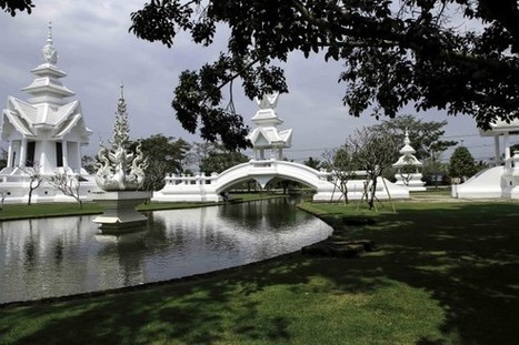 Wat Rong Khun : Le temple plus blanc que blanc - MOGWAII | mogwaii.fr | Scoop.it