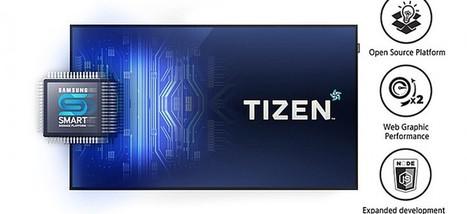 Sonovision - Avec Tizen, Samsung ouvre les portes d'une nouvelle génération d'affichage dynamique | Mediakwest | Scoop.it