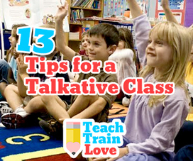 13 Tips for a Talkative Class - teachtrainlove.com | Each One Teach One, Each One Reach One | Scoop.it