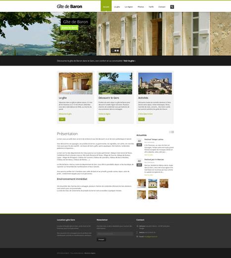 Gîte de Baron - Location gite Gers | Chambres d'hotes gers | Scoop.it