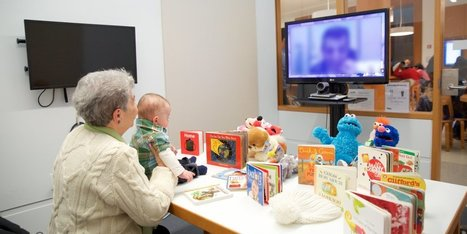 This library's heartwarming program lets inmates read stories to their kids on video chat | Juvenile Prison Outreach | Scoop.it