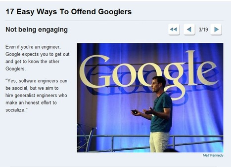 """Not being """"engaging"""" i.e. SOCIAL is not gonna get you hired at Google!   MILE HIGH Social Media   Scoop.it"""