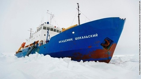 Ships break free from ice off Antarctica | FCHS AP HUMAN GEOGRAPHY | Scoop.it