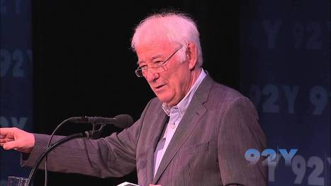 Seamus Heaney Kicks Off The 2011/12 92Y Poetry Season - YouTube | Seamus Heaney | Scoop.it