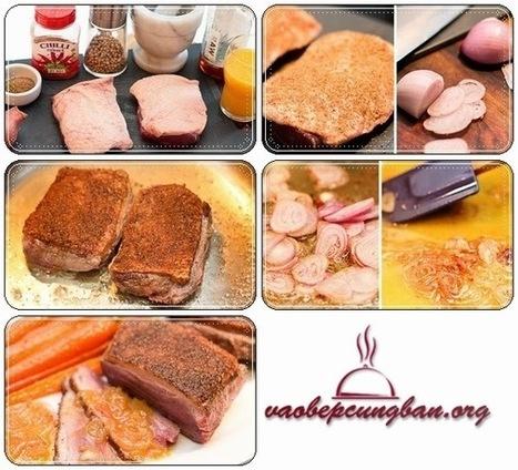 Cách làm món Ức Vịt Sốt Cam không bao giờ chán - Vào Bếp học nấu ăn ngon | Blog dạy nấu ăn ngon | Ẩm thực ngon | Những món ăn ngon | Scoop.it