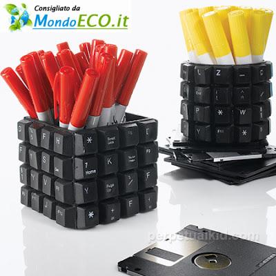 Riciclo di una vecchia tastiera | Riciclo Creativo | Scoop.it