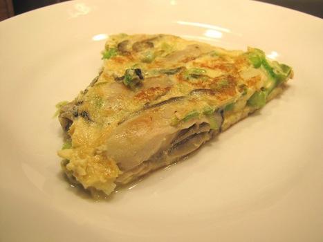 Cuisine normande : Omelette au huîtres d'après une recette de 1771 - | Mangeaille normande | Scoop.it