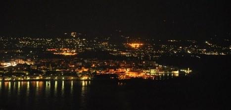 Panoramio - Photo of Khania by night   #Crete Island Adventure   Scoop.it