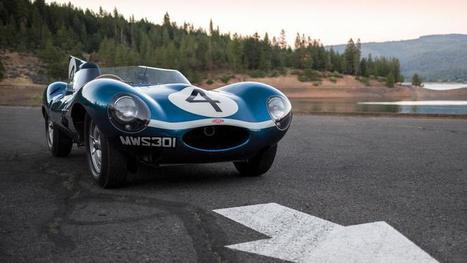 19,23 millions d'euros pour une Jaguar Type D | Voitures anciennes - Classic cars - Concept cars | Scoop.it
