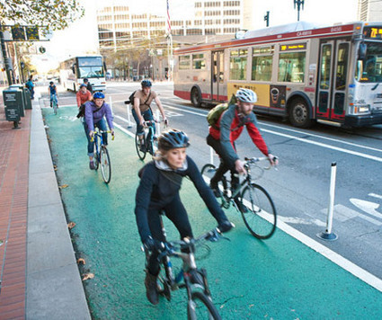 As protected lanes take off, will California fall behind? | Local Economy in Action | Scoop.it