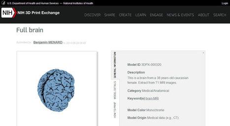 L'étonnant catalogue 3D 'à imprimer' du ministère de la santé américain - 4ième Révolution | Innovation Digitale - by The LINKS | Scoop.it