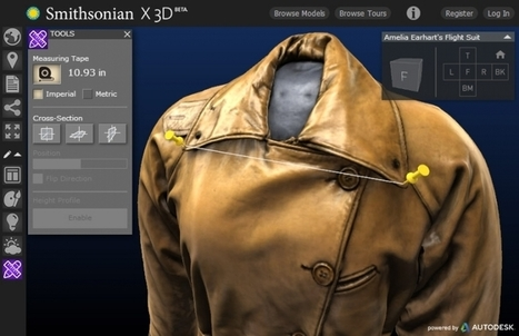 Smithsonian Now Allows Anyone To 3D Print (Some) Historic Artifacts - Forbes   The future of being human   Scoop.it