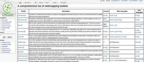 WebMapIt blog: A comprehensive list of webmapping toolkits | Webmapping | Scoop.it