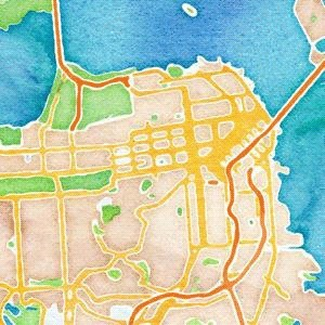 Map–>Image: Create Beautiful Images From Maps | Professional development of Librarians | Scoop.it