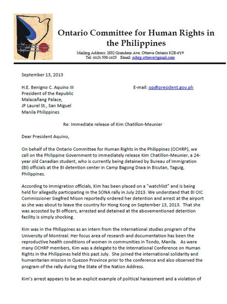Canadian student detained by Philippines' Bureau of Immigration ... | Philippine Immigration News | Scoop.it
