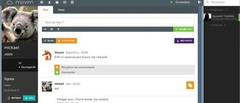 Movim, un réseau social alternatif, libre, ouvert et décentralisé   Social Media   Scoop.it