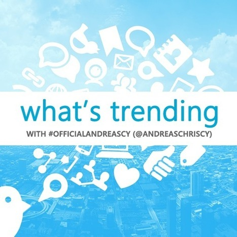 Trending Tweets at THE *OFFICIAL ANDREASCY* | DEwil. Explore a world you like. | Scoop.it
