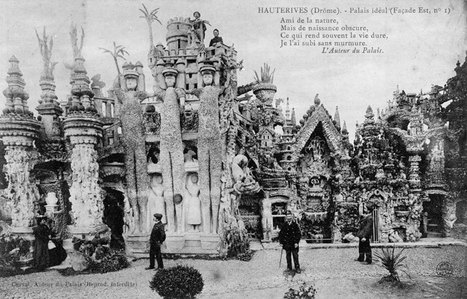 Cartes postales du Palais idéal du FACTEUR CHEVAL | Le blog de Shige | The Architecture of the City | Scoop.it