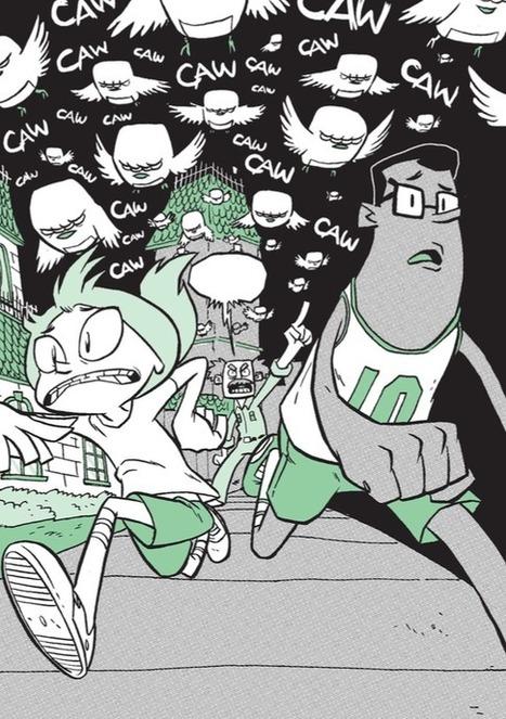 Robot Birds, Comics and Binary Numbers: Gene Luen Yang leert lezers #programmeren met een stripboek | De wereld van Olafiolio... | Scoop.it