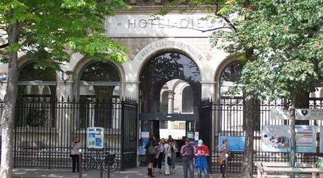 Hôtel-Dieu de Paris, premier hôpital pour les gens debout | Paris lifestyles | Scoop.it