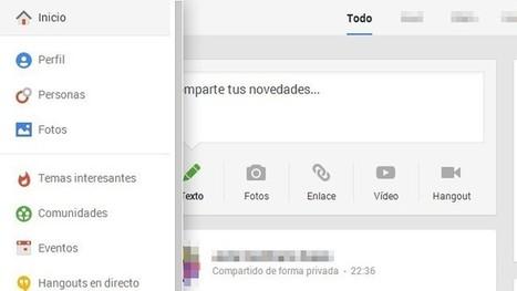 La nueva interfaz de Google+. A fondo | Herramientas de Google | Scoop.it