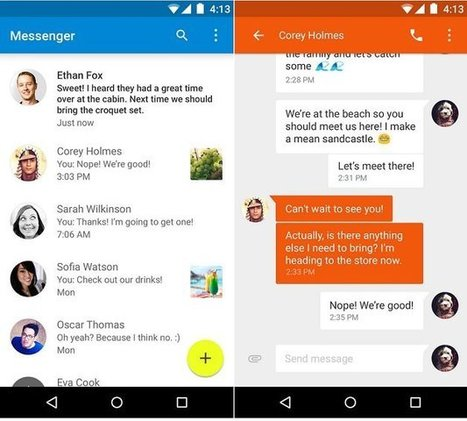 How To Use Messenger - Android Lollipop - Prime Inspiration   TechSci   Scoop.it