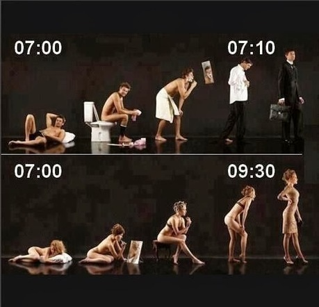 Men Morning vs Women Morning ~ shocking and funny | funny | Scoop.it