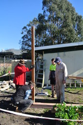 Our Pergola Takes Shape | Moss Vale Community Garden | Adds Beauty To My Landscape | Scoop.it