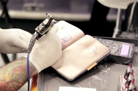Skin Book – Un sketchbook en peau artificielle pour les tatoueurs ! | Recyclage et récupération | Scoop.it