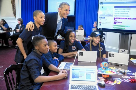 Hour of Code encourages kids to create, not just use, technology | Kidpreneur | Scoop.it