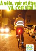 """Campagne """"Cyclistes, brillez !"""" du 22 au 28 octobre 2012 - Fédération française des Usagers de la Bicyclette   Le vélo rigolo   Scoop.it"""