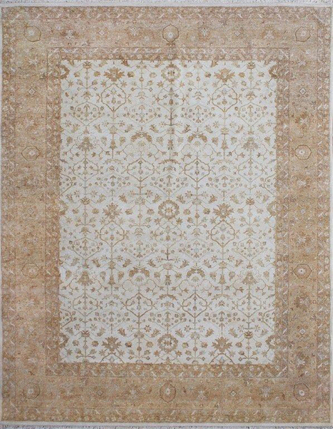 Ziegler Wool Baige Hand Knotted 10765 for only $2,160.00 at Rugsville.com | Kids Rugs | Scoop.it