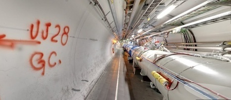 Google adds Large Hadron Collider tunnel to Street View - Register | test-cms-2 | Scoop.it