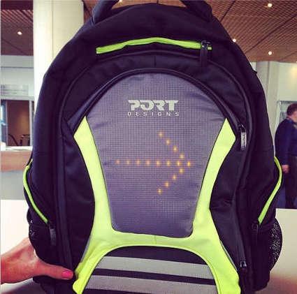 ICC Protect, le sac à dos connecté de Port Designs pour les cyclistes   Connected-Objects.fr   ENERGIES NOUVELLES   Scoop.it