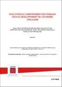 Évaluation du comportement des français face au développement de l'économie circulaire - ADEME | Environnement et développement durable, mode de vie soutenable | Scoop.it